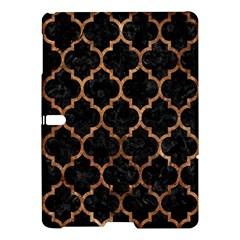 Tile1 Black Marble & Brown Stone Samsung Galaxy Tab S (10 5 ) Hardshell Case  by trendistuff