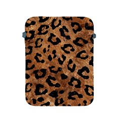 Skin5 Black Marble & Brown Stone Apple Ipad 2/3/4 Protective Soft Case by trendistuff