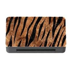 Skin3 Black Marble & Brown Stone (r) Memory Card Reader With Cf by trendistuff