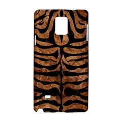 Skin2 Black Marble & Brown Stone (r) Samsung Galaxy Note 4 Hardshell Case by trendistuff