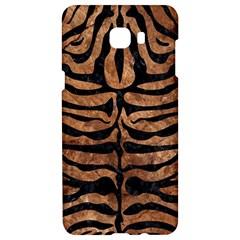 Skin2 Black Marble & Brown Stone (r) Samsung C9 Pro Hardshell Case  by trendistuff