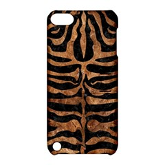 Skin2 Black Marble & Brown Stone Apple Ipod Touch 5 Hardshell Case With Stand by trendistuff