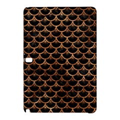 Scales3 Black Marble & Brown Stone Samsung Galaxy Tab Pro 12 2 Hardshell Case by trendistuff