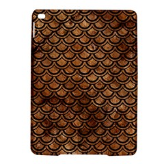 Scales2 Black Marble & Brown Stone (r) Apple Ipad Air 2 Hardshell Case by trendistuff