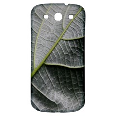 Leaf Detail Macro Of A Leaf Samsung Galaxy S3 S Iii Classic Hardshell Back Case by Nexatart
