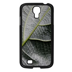 Leaf Detail Macro Of A Leaf Samsung Galaxy S4 I9500/ I9505 Case (black) by Nexatart