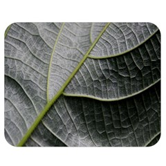 Leaf Detail Macro Of A Leaf Double Sided Flano Blanket (medium)  by Nexatart