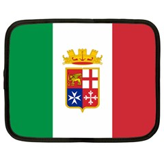 Naval Ensign Of Italy Netbook Case (large) by abbeyz71