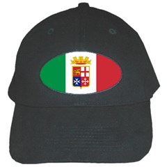 Naval Ensign Of Italy Black Cap by abbeyz71