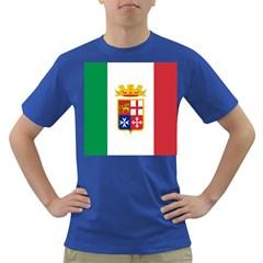Naval Ensign Of Italy Dark T Shirt by abbeyz71
