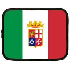 Naval Ensign Of Italy Netbook Case (xxl)  by abbeyz71