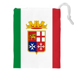 Naval Ensign Of Italy Drawstring Pouches (xxl) by abbeyz71