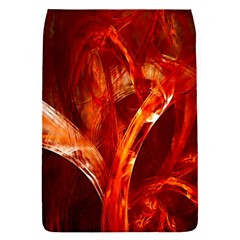 Red Abstract Pattern Texture Flap Covers (s)  by Nexatart