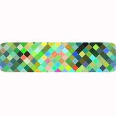 Pixel Pattern A Completely Seamless Background Design Large Bar Mats by Nexatart