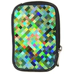 Pixel Pattern A Completely Seamless Background Design Compact Camera Cases by Nexatart