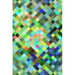 Pixel Pattern A Completely Seamless Background Design 5 5  X 8 5  Notebooks by Nexatart
