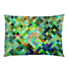 Pixel Pattern A Completely Seamless Background Design Pillow Case (two Sides) by Nexatart