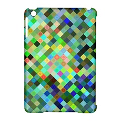 Pixel Pattern A Completely Seamless Background Design Apple Ipad Mini Hardshell Case (compatible With Smart Cover) by Nexatart