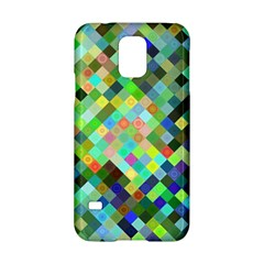 Pixel Pattern A Completely Seamless Background Design Samsung Galaxy S5 Hardshell Case  by Nexatart