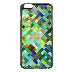 Pixel Pattern A Completely Seamless Background Design Apple Iphone 6 Plus/6s Plus Black Enamel Case by Nexatart