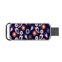 Cute Birds Seamless Pattern Portable Usb Flash (one Side) by Nexatart