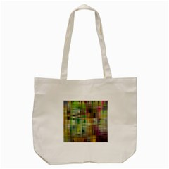 Woven Colorful Abstract Background Of A Tight Weave Pattern Tote Bag (cream) by Nexatart