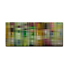 Woven Colorful Abstract Background Of A Tight Weave Pattern Cosmetic Storage Cases by Nexatart