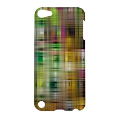 Woven Colorful Abstract Background Of A Tight Weave Pattern Apple Ipod Touch 5 Hardshell Case by Nexatart