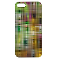 Woven Colorful Abstract Background Of A Tight Weave Pattern Apple Iphone 5 Hardshell Case With Stand by Nexatart