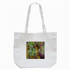 Woven Colorful Abstract Background Of A Tight Weave Pattern Tote Bag (white) by Nexatart