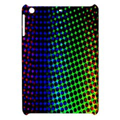 Digitally Created Halftone Dots Abstract Apple Ipad Mini Hardshell Case by Nexatart
