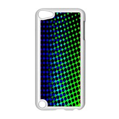 Digitally Created Halftone Dots Abstract Apple Ipod Touch 5 Case (white) by Nexatart