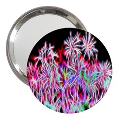 Fractal Fireworks Display Pattern 3  Handbag Mirrors by Nexatart