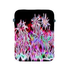 Fractal Fireworks Display Pattern Apple Ipad 2/3/4 Protective Soft Cases by Nexatart