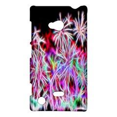 Fractal Fireworks Display Pattern Nokia Lumia 720 by Nexatart