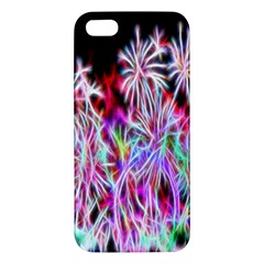 Fractal Fireworks Display Pattern Iphone 5s/ Se Premium Hardshell Case by Nexatart
