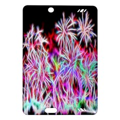 Fractal Fireworks Display Pattern Amazon Kindle Fire Hd (2013) Hardshell Case by Nexatart