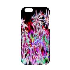 Fractal Fireworks Display Pattern Apple Iphone 6/6s Hardshell Case by Nexatart