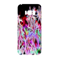 Fractal Fireworks Display Pattern Samsung Galaxy S8 Hardshell Case