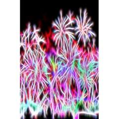 Fractal Fireworks Display Pattern 5 5  X 8 5  Notebooks by Nexatart
