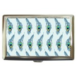 Background Of Beautiful Peacock Feathers Cigarette Money Cases