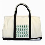Background Of Beautiful Peacock Feathers Two Tone Tote Bag