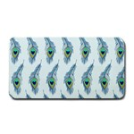 Background Of Beautiful Peacock Feathers Medium Bar Mats