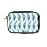 Background Of Beautiful Peacock Feathers Coin Purse