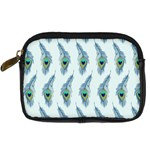 Background Of Beautiful Peacock Feathers Digital Camera Cases