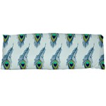 Background Of Beautiful Peacock Feathers Body Pillow Case Dakimakura (Two Sides)