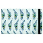 Background Of Beautiful Peacock Feathers Apple iPad 3/4 Flip Case