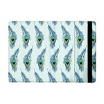 Background Of Beautiful Peacock Feathers Apple iPad Mini Flip Case