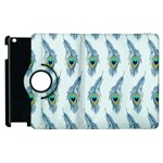 Background Of Beautiful Peacock Feathers Apple iPad 3/4 Flip 360 Case