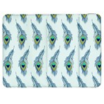Background Of Beautiful Peacock Feathers Samsung Galaxy Tab 7  P1000 Flip Case